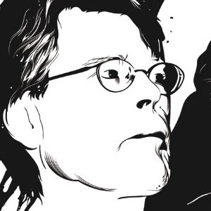 Illustration des auteurs Stephen king et Jean-Christophe Grangé
